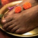 Why Do We Touch a Guru's Feet?
