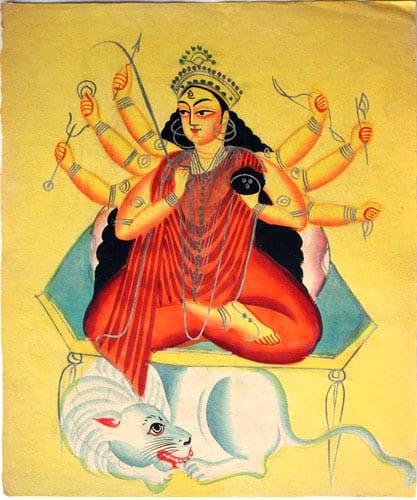 Kalighat_Durga