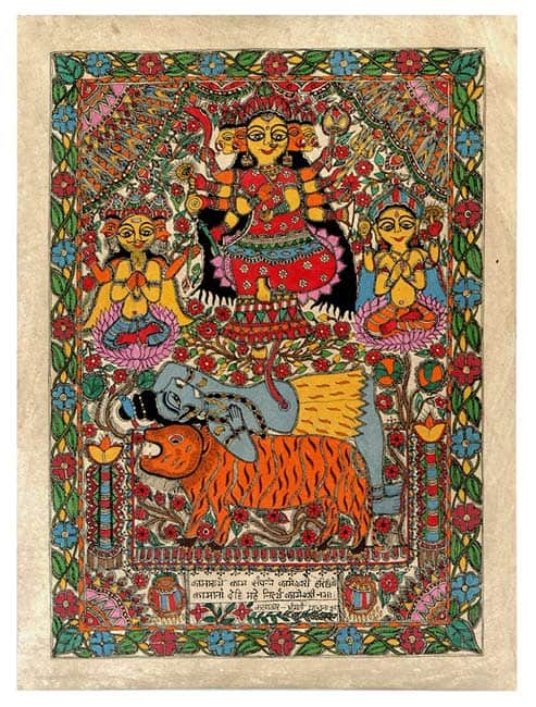 kamakhya madhubani