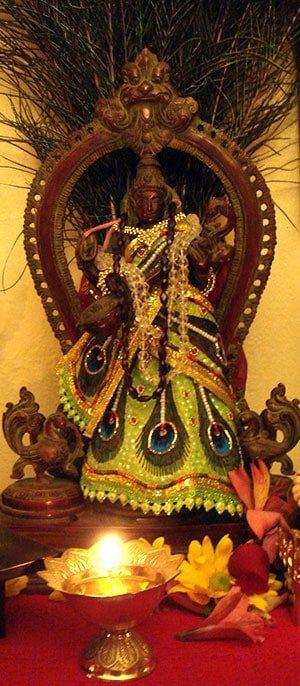 Matangi Altar (at Sri Kamakhya Mahavidya Mandir, 2010-12)