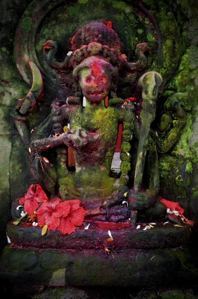 Cāmuṇḍā at Kamakhya (Photo courtesy of © William Clark)