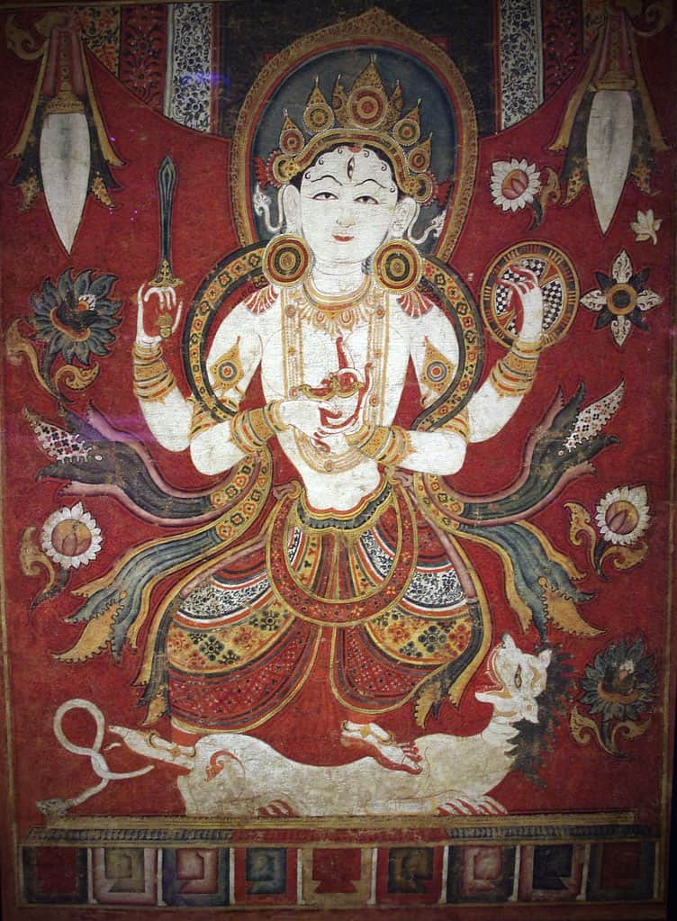 Image of Durga from Nepal (Photo courtesy of © Damon Taylor)