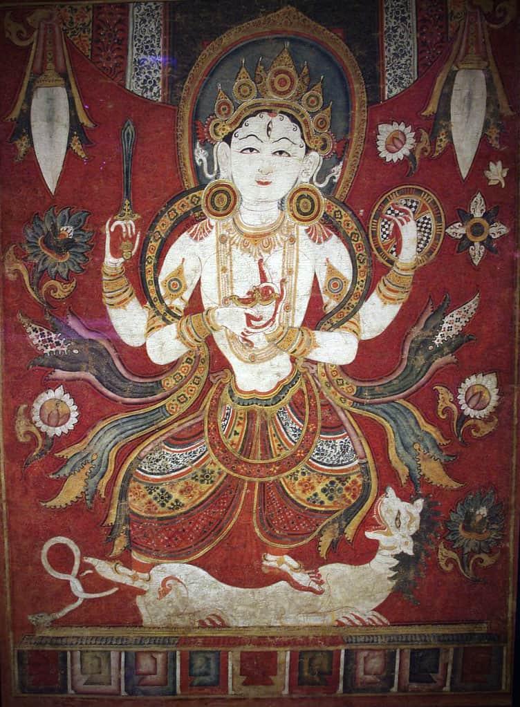 Image of Durga from Nepal (Photo courtesy of © Damon Taylor)