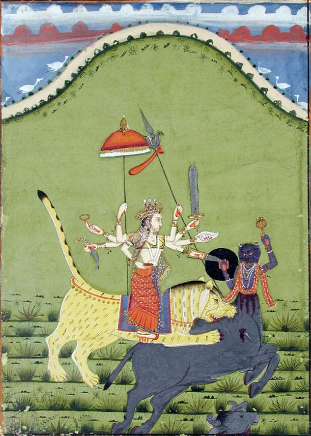 Durga, Rajasthan, 1844 (Photo courtesy © San Diego Museum of Art)