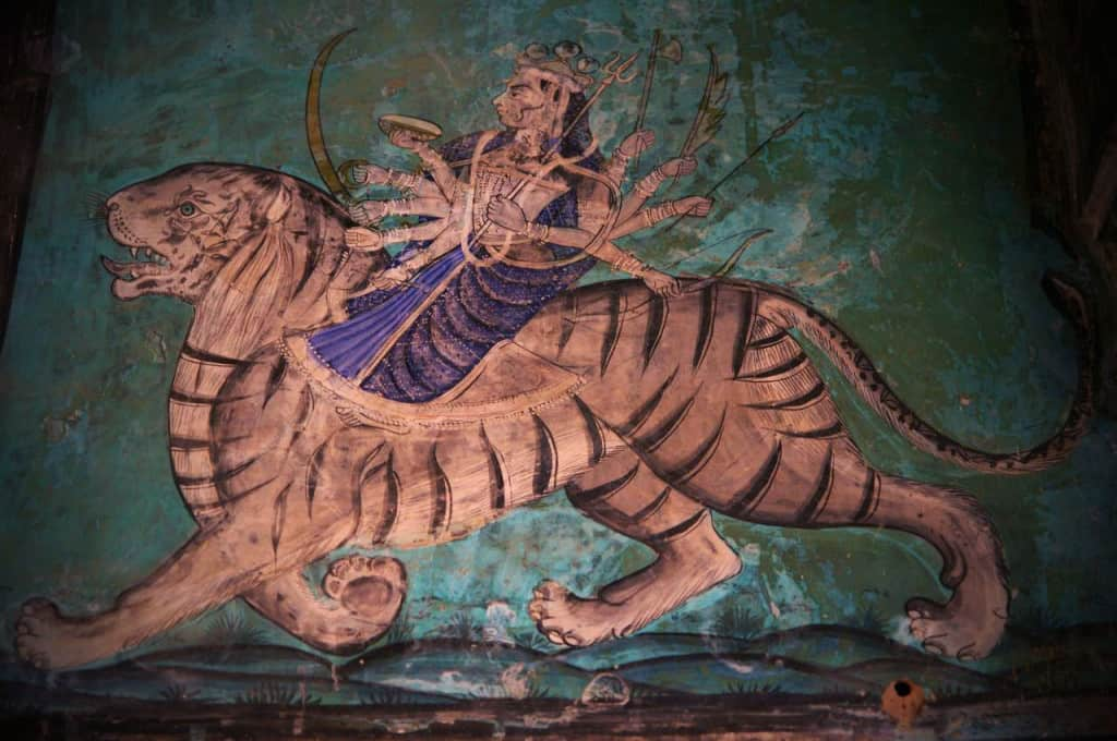 Durga (Photo courtesy of © Andrea Kirkby)