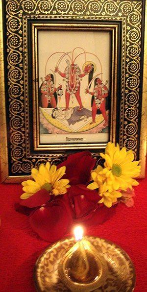 Chinnamasta Altar (at Sri Kamakhya Mahavidya Mandir, 2010-12)