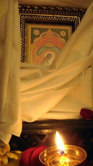 Dhumavati Altar (at Sri Kamakhya Mahavidya Mandir, 2010-12)