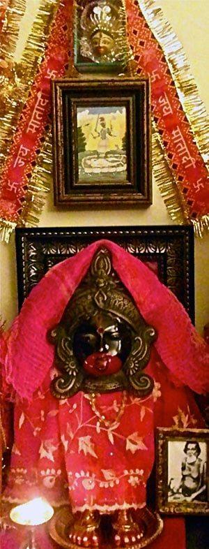 Tara Altar (at Sri Kamakhya Mahavidya Mandir, 2010-12)